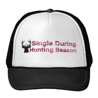 Single During Hunting Season Mesh Hat