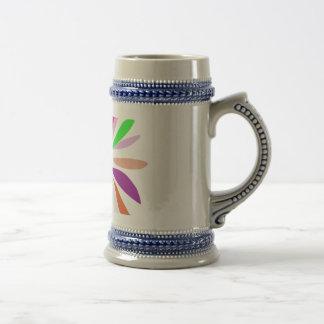 Single Flower Beer Steins