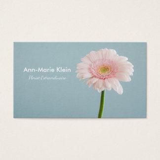 Single flower business card