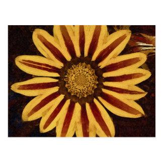 Single Flower Post Card