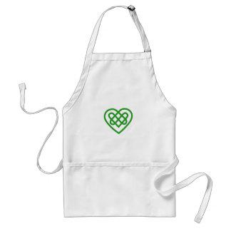 Single Heart Standard Apron