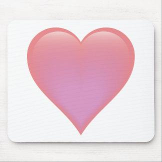 Single Heart Mousepads