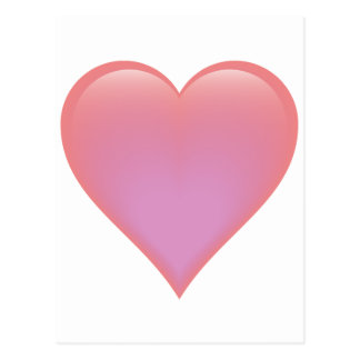 Single Heart Postcard