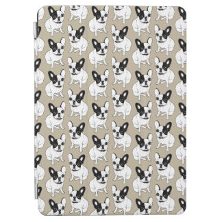 Single Hooded Brindle Pied Frenchie iPad Air Cover