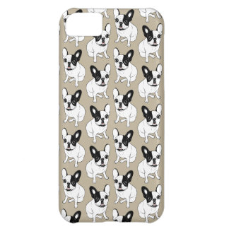 Single Hooded Brindle Pied Frenchie iPhone 5C Case