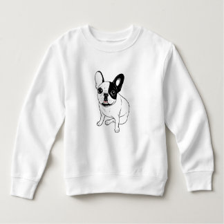 Single Hooded Brindle Pied Frenchie Sweatshirt