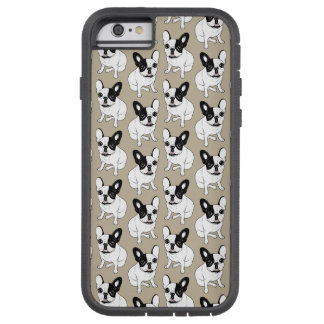Single Hooded Brindle Pied Frenchie Tough Xtreme iPhone 6 Case
