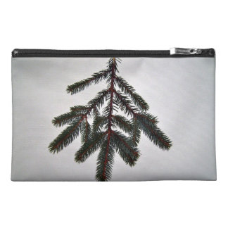 single isolated branch on white background travel accessory bags
