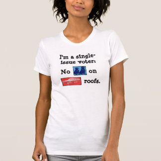 Single Issue Voter Obama Tee