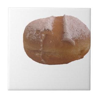 Single Krapfen ( italian doughnut ) Ceramic Tile