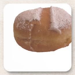 Single Krapfen ( italian doughnut ) Coaster