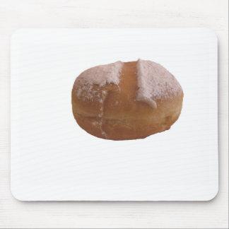 Single Krapfen ( italian doughnut ) Mouse Pad