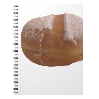 Single Krapfen ( italian doughnut ) Notebook