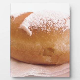 Single Krapfen ( italian doughnut ) Plaque