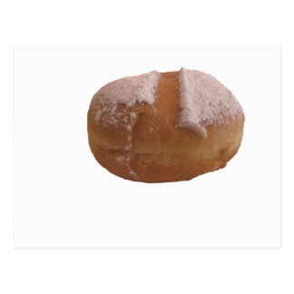 Single Krapfen ( italian doughnut ) Postcard