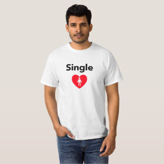 Single Male Looking for Male T-Shirt