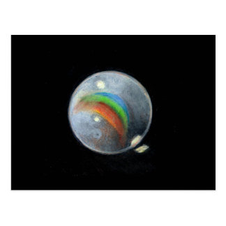 SINGLE MARBLE: ART: REALISM POSTCARD