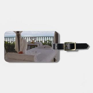 Single Massage Table Luggage Tag