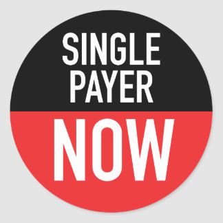 Single Payer Now Sticker