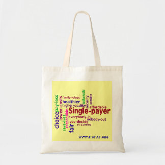 Single-payer Tote Budget Tote Bag