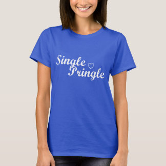 """Single Pringle"" Women's T-shirt Blue"