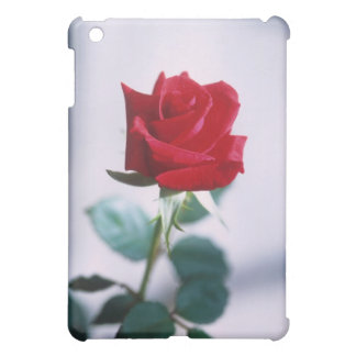 Single Red Rose Flower iPad Mini Cover