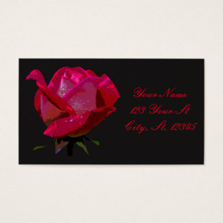 single red rose Thunder_Cove any color Business Card