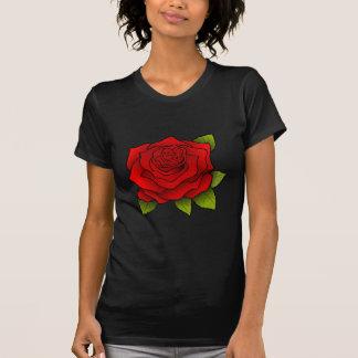 Single Red Rose T-shirts