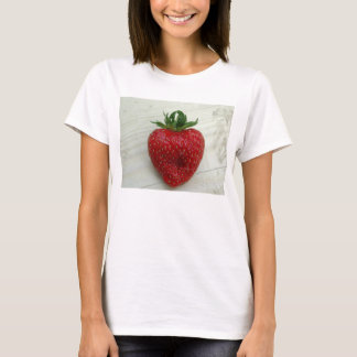 Single Red Strawberry T-Shirt
