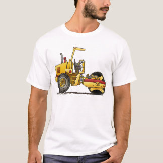 Single Roller Compactor Construction Apparel T-Shirt