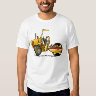 Single Roller Compactor Construction Apparel T Shirts