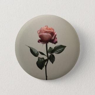 Single Rose ~ Button