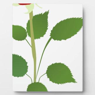 Single Rose Plaque