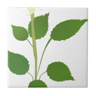 Single Rose Tile