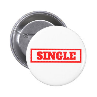 Single Stamp 6 Cm Round Badge