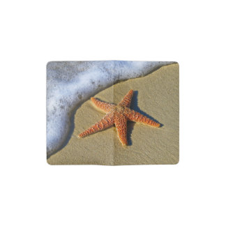 Single Starfish on Beach Pocket Moleskine Notebook