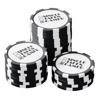 Single Taken or Gamer Poker Chips Set