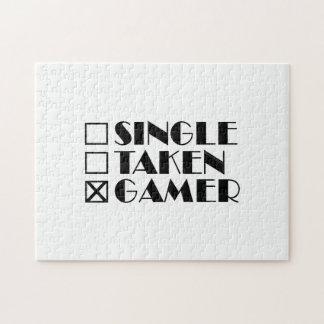 Single Taken or Gamer Puzzle