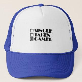 Single Taken or Gamer Trucker Hat