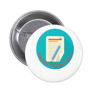 Single Tasking Day - Appreciation Day 6 Cm Round Badge
