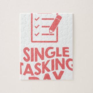 Single Tasking Day - Appreciation Day Jigsaw Puzzle