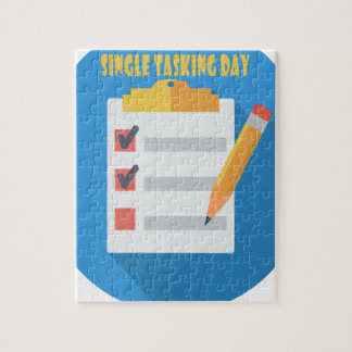 Single Tasking Day - Appreciation Day Puzzle