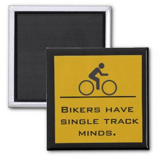 single track mind magnet