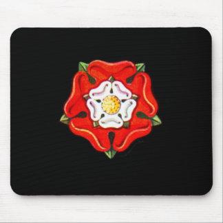 Single Tudor Rose Mouse Pad