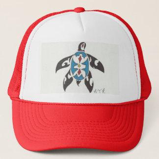 single turtle trucker hat