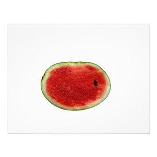 single watermelon slice graphic flyers