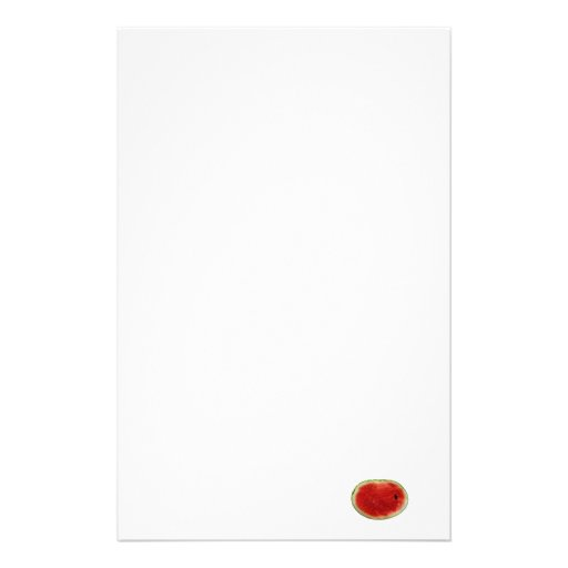 single watermelon slice graphic personalized stationery