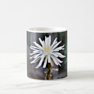 Single White Cactus Coffee Cup/Mug Coffee Mug