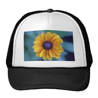 Single yellow flower hats