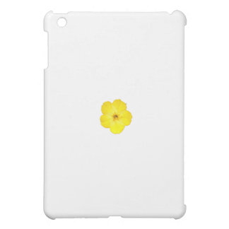 Single Yellow Four O'Clock iPad Mini Covers
